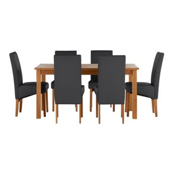 Oak sturdy dining room furniture - Sturdy dining room chairs ...