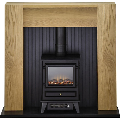 bio ethanol fireplaces fuel fire surrounds homebase. Black Bedroom Furniture Sets. Home Design Ideas