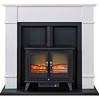 Electric Stove Fireplace Suite Oxford Electric Stove Suite