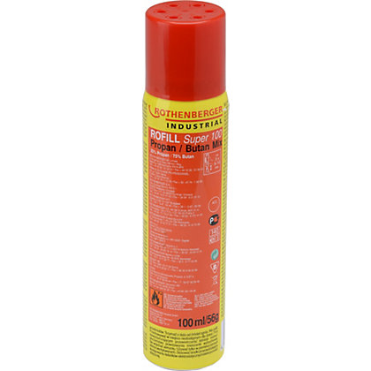 Image for Rothenberger Disposable Gas Cartridge - 100ml/56g from StoreName