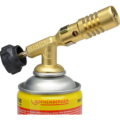 Image for Rothenberger Rofire Burner Adjustable Gas Torch from StoreName