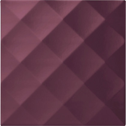 Image for Conran Ridge Plum Ceramic Wall Tile 25 pack from StoreName