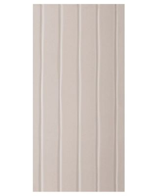 Studio Conran Flow Glazed Ceramic Wall Tile Putty Satin -