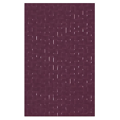 Image for Hartland Plum Pressed Mosaic Wall Tile 10 pack from StoreName