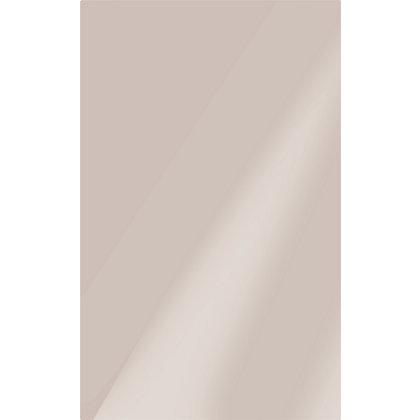 Image for Studio Conran Plain Glazed Ceramic Wall Tile Putty Gloss - 248 x 398mm - 10 pack from StoreName