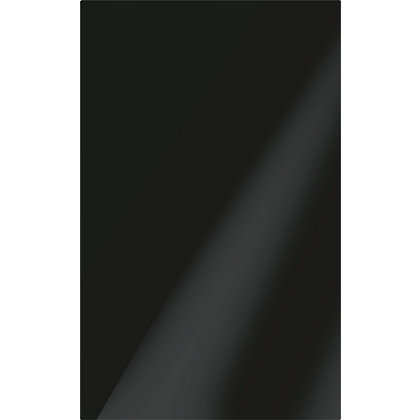 Image for Conran Studio Plain Black Gloss Ceramic Wall Tile 10 pack from StoreName