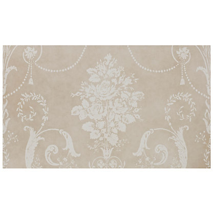 Image for Laura Ashley Josette Glazed Ceramic Decor Wall Tile Part A Cream Matt - 298 x 498mm - 6 pack from StoreName