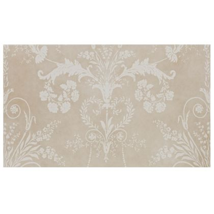 Laura Ashley Ceramic Wall Lights : Laura Ashley Josette Glazed Ceramic Da?cor Wall Tile Part B Cream Matt - 298x498mm