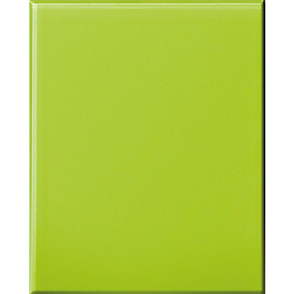 Image for Impact Toughened Glass Self Adhesive Splashback Lime - 600 x 750mm from StoreName