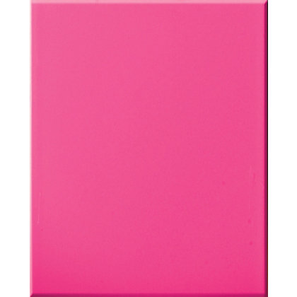 Image for Impact Toughened Glass Self Adhesive Splashback Hot Pink - 600 x 750mm from StoreName