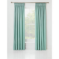 Heart of House Moreton Twill Lined Pencil Pleat Curtains.