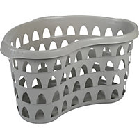 Strata 60cm Laundry Hip Basket - Putty