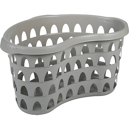 Image for Strata 60cm Laundry Hip Basket - Putty from StoreName