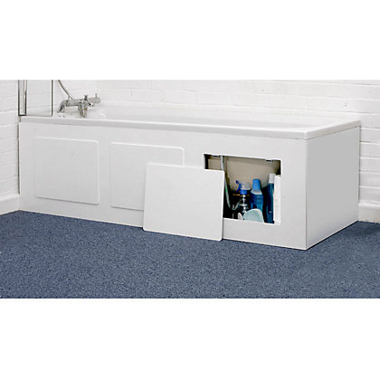 Image for Storage Bath Panel - White from StoreName