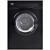 Bush V6SDB Vented Tumble Dryer - Black/Exp Del.