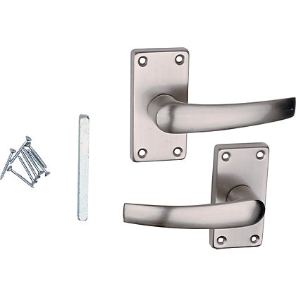Image for Value Lever Latch - Brushed Nickel from StoreName