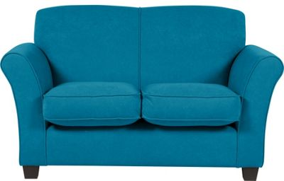Caitlin Regular Fabric Sofa Teal