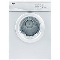 Bush V6SDW Vented Tumble Dryer - White/Exp Del.