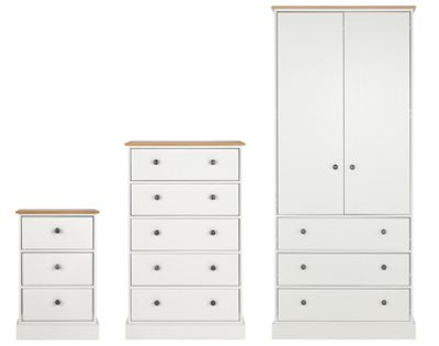 White Wood Bedroom Furniture