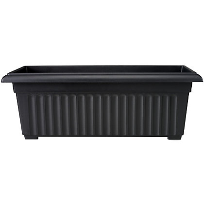 Image for Corinth 30cm Patio Trough - Black from StoreName