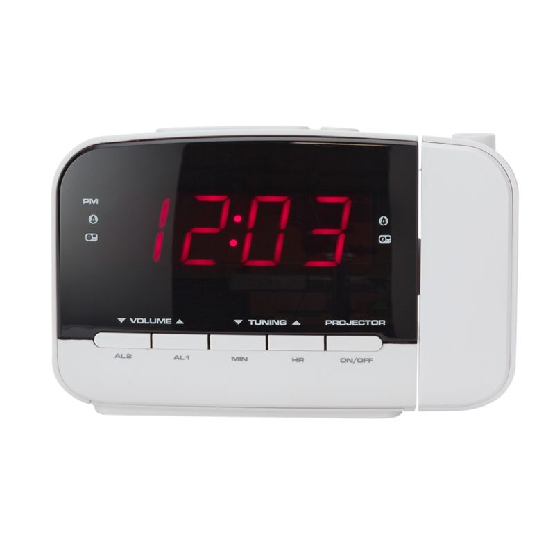 bush projection alarm clock. Black Bedroom Furniture Sets. Home Design Ideas