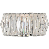 Heart of House Prism Wall Light - Chrome.