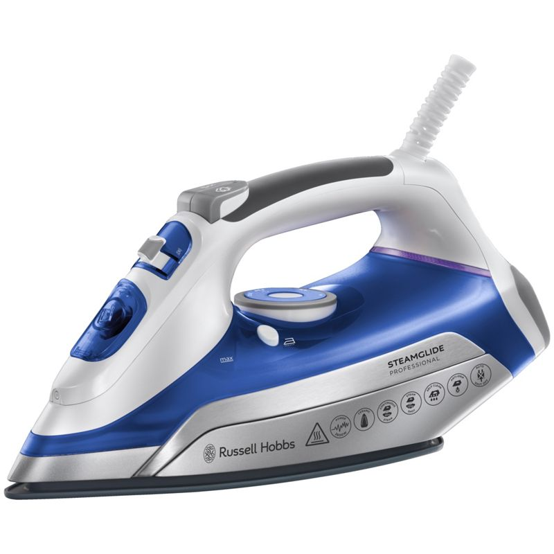 russell hobbs 22070 steamglide pro iron best price from. Black Bedroom Furniture Sets. Home Design Ideas