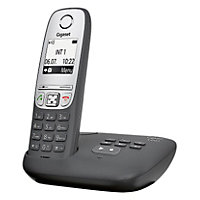 Gigaset A455A Cordless Telephone Answer Machine - Single.