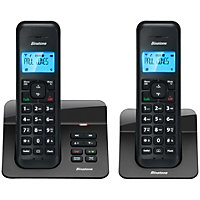 Binatone Luna Cordless 1120 with Answer Machine - Twin.