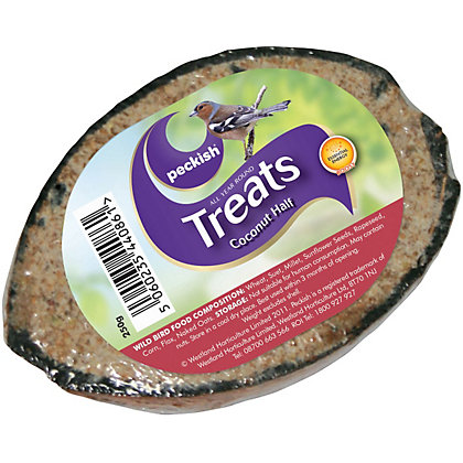 Image for Peckish Single Coconut Shell Treat from StoreName
