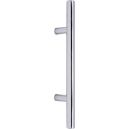 Image for T-Bar Door Handle - Polished Chrome - 96mm from StoreName