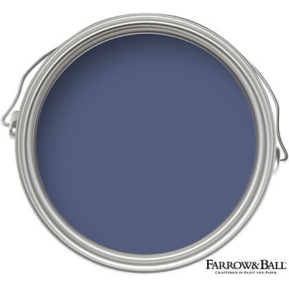 Image for Farrow & Ball Estate No.220 Pitch Blue - Matt Emulsion Paint - 2.5L from StoreName