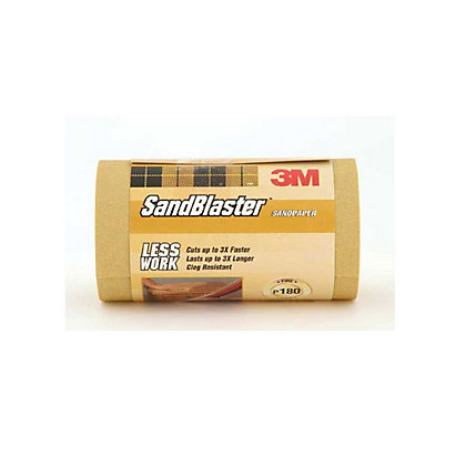 Image for 3M P180 SandBlaster Roll - Very Fine - 2.5m from StoreName