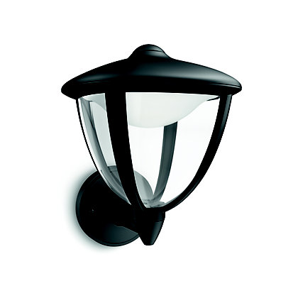Image for Philips myGarden Robin LED Wall light - Black from StoreName