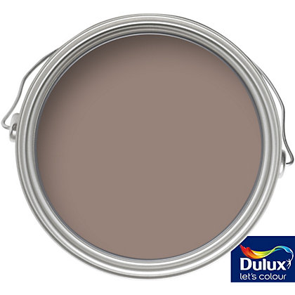 Image for Dulux Once Intense Truffle - Matt Emulsion Paint - 50ml Tester from StoreName