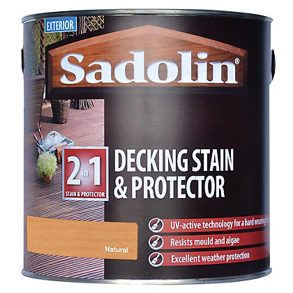 Image for Sadolin Decking Stain and Preserver - Natural - 2.5L from StoreName