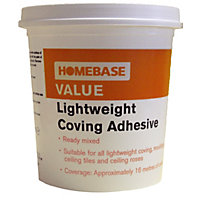 Homebase Value Lightweight Coving Adhesive - 1L