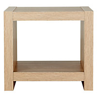 Sicily End Table - Oak Effect.