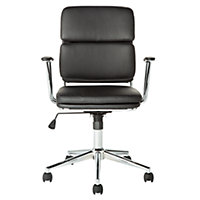 Melbourne Gas Lift Office Chair - Black.
