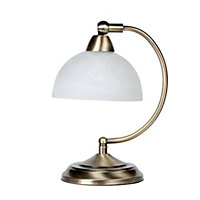 Roland Table Lamp - Antique Brass - 26.5cm