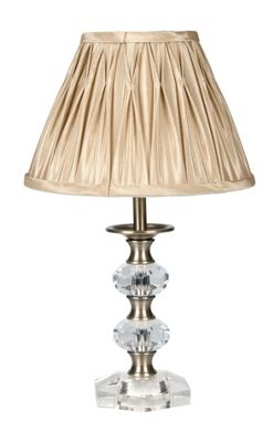 Homebase - Heritage Mini Table Lamp - Antique Brass - 34cm customer reviews - product reviews ...
