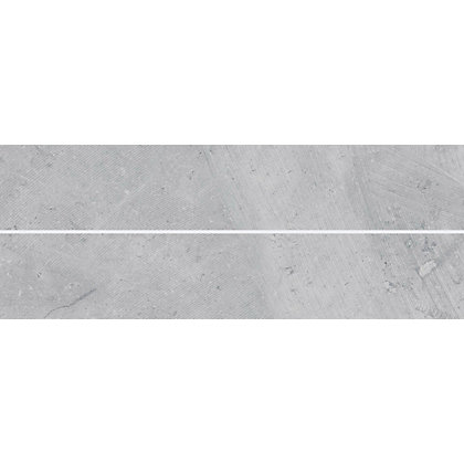 Image for Tones Effects Scored Wall Tile - Grey - 400 x150 mm - 8 pack from StoreName