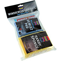 Kent Car Care Windscreen Valet Kit with Demist Pad