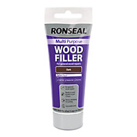 Ronseal Multipurpose Wood Filler Tube - Dark - 100g