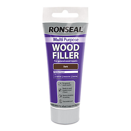 Image for Ronseal Multipurpose Wood Filler Tube - Dark - 100g from StoreName