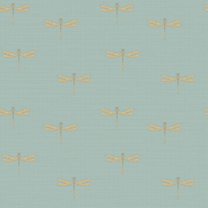 Image for Waters Edge Wallpaper - Soft Blue from StoreName