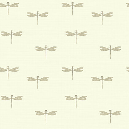 Image for Waters Edge Wallpaper - Cream from StoreName