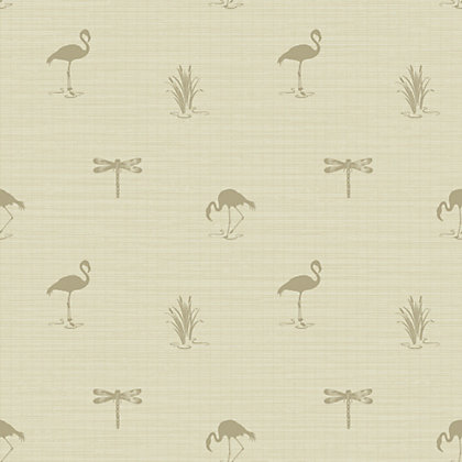 Image for Lakeside Wallpaper - Taupe from StoreName