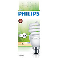 Philips Energy Saver (CFL) Spiral BC 11W Bulb