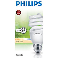 Philips Energy Saver (CFL) Spiral ES 11W Bulb